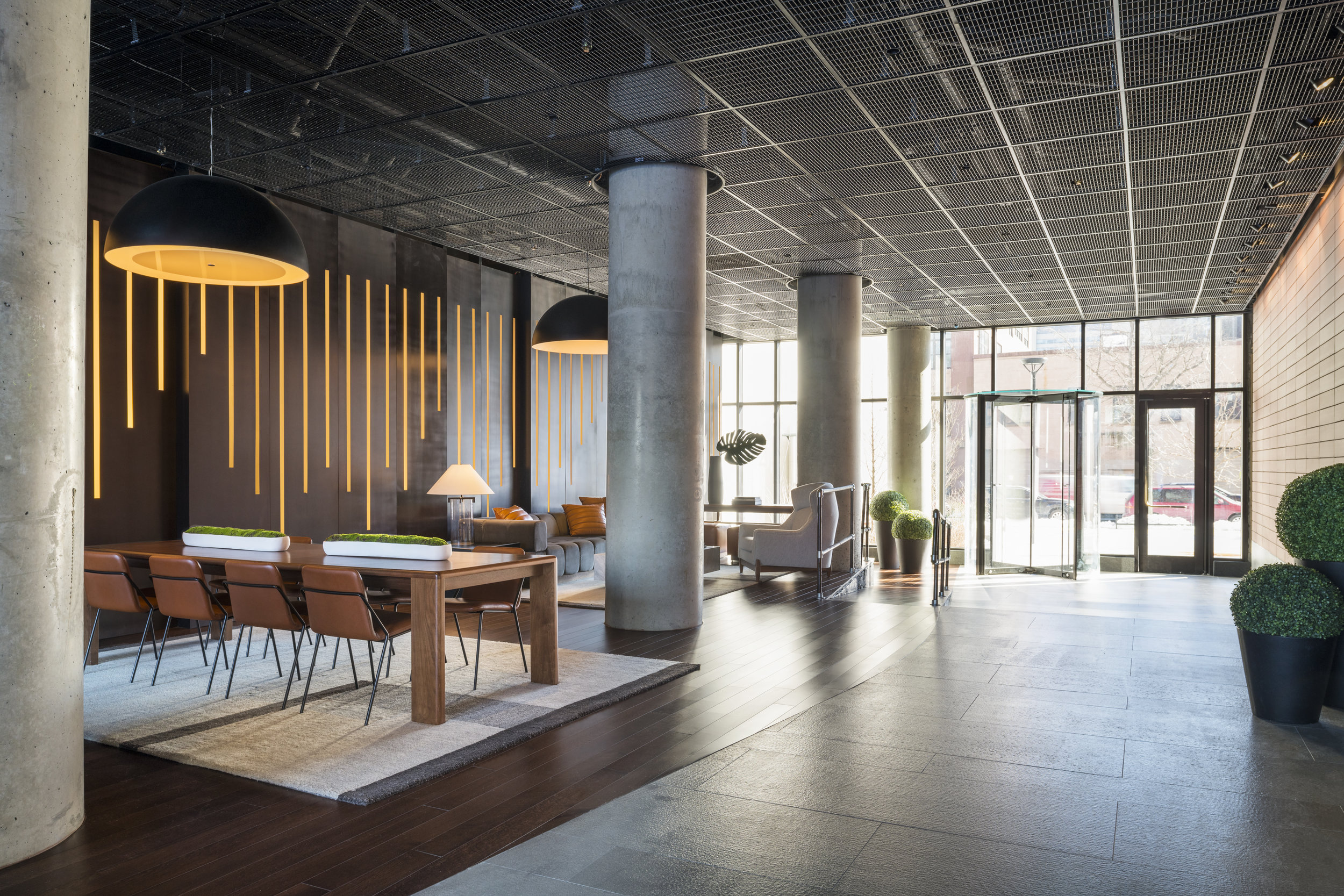 Get A First Look At The Amberly's Newly Revealed Penthouse Lounge And Amenities In Downtown Brooklyn