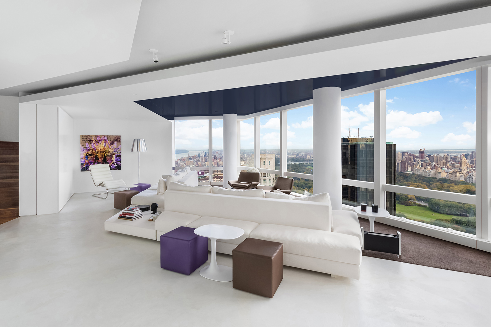 Check Out This Stunning Time Warner Center Residence With Central Park Views Asking $18.75 Million