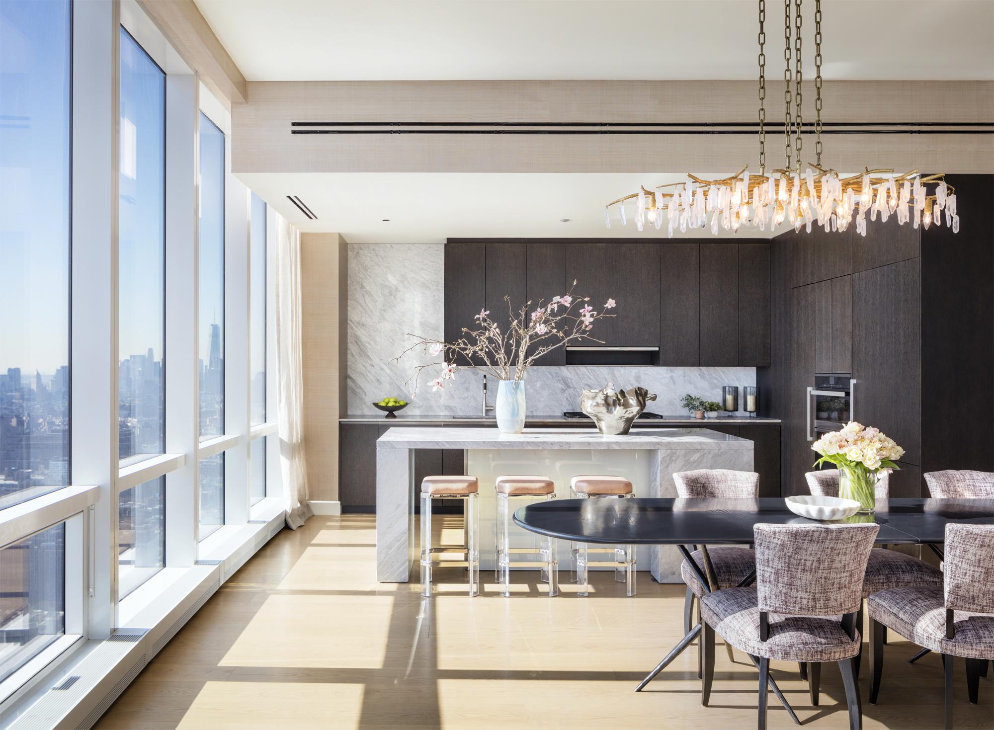 The Diller Scofidio + Refro-Designed Fifteen Hudson Yards Reveals Lavish New Listings