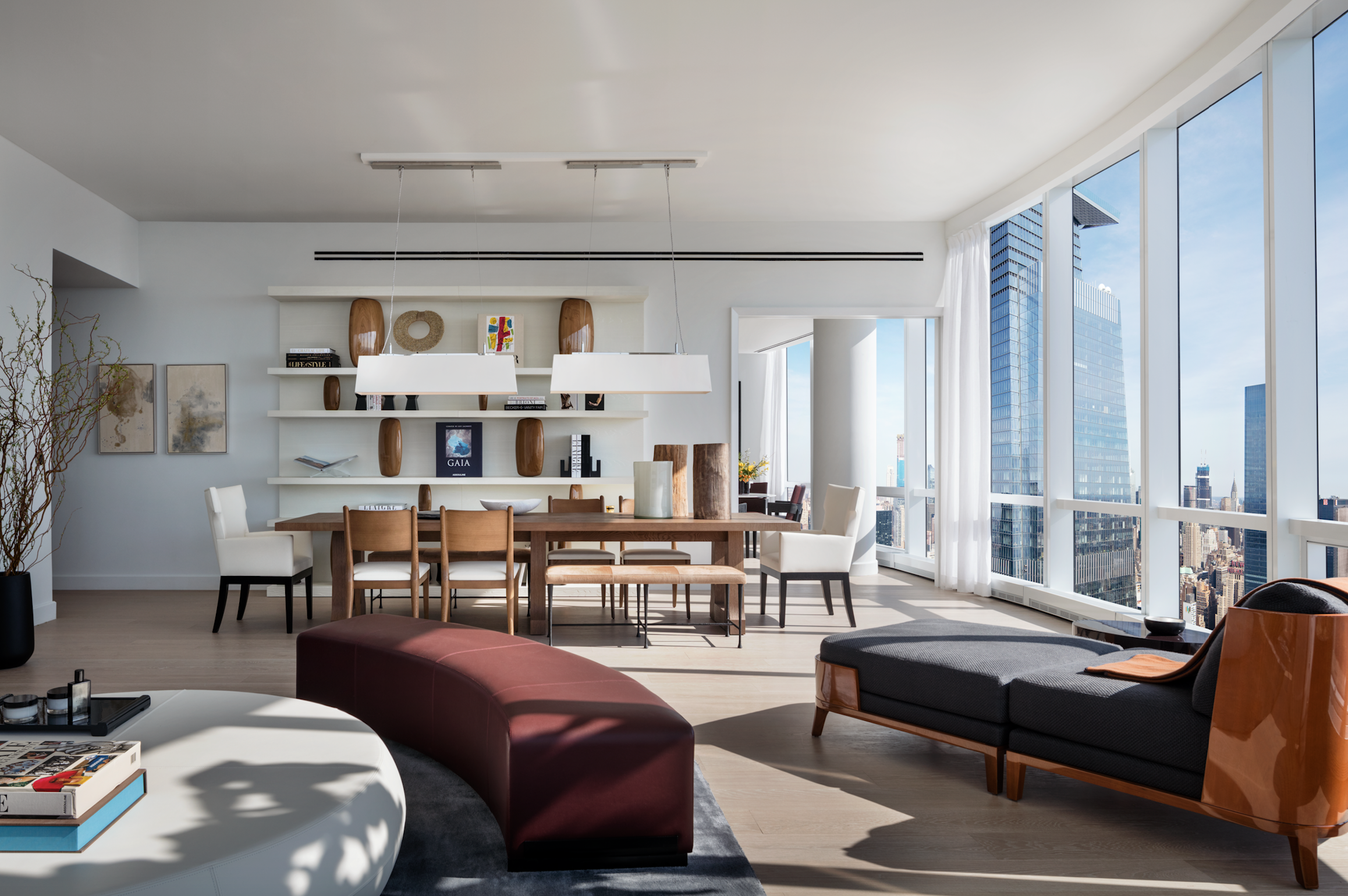 The Diller Scofidio + Refro-Designed Fifteen Hudson Yards Reveals Lavish New Listings