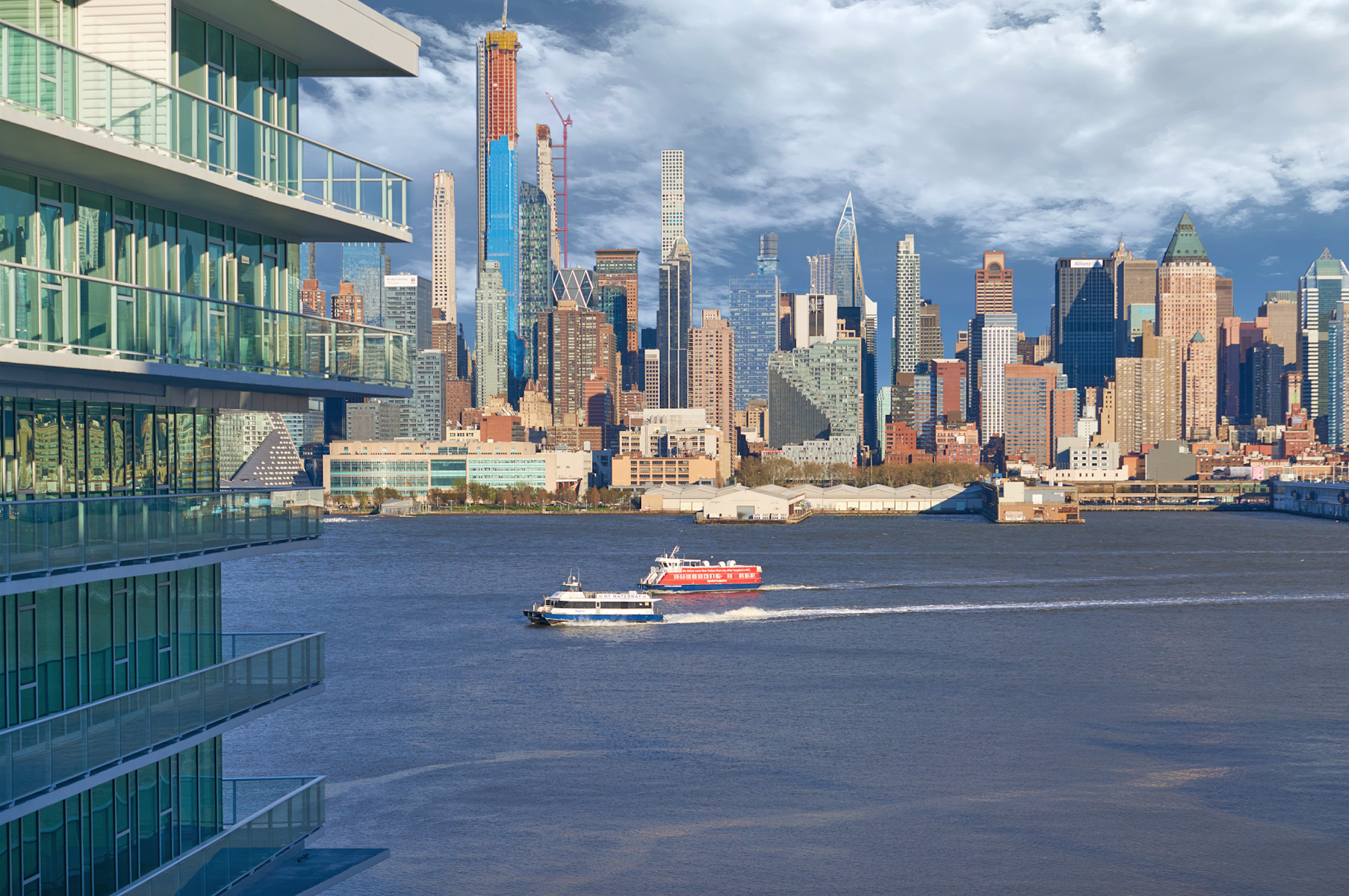 The LEED-Anticipated Avora Reveals A Stunning New Waterfront Residence In Weehawken On New Jersey's Gold Coast