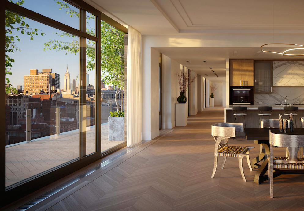 $15.5 Million Penthouse Designed By Ryan Korban Hits The Market At 40 Bleecker In NoHo