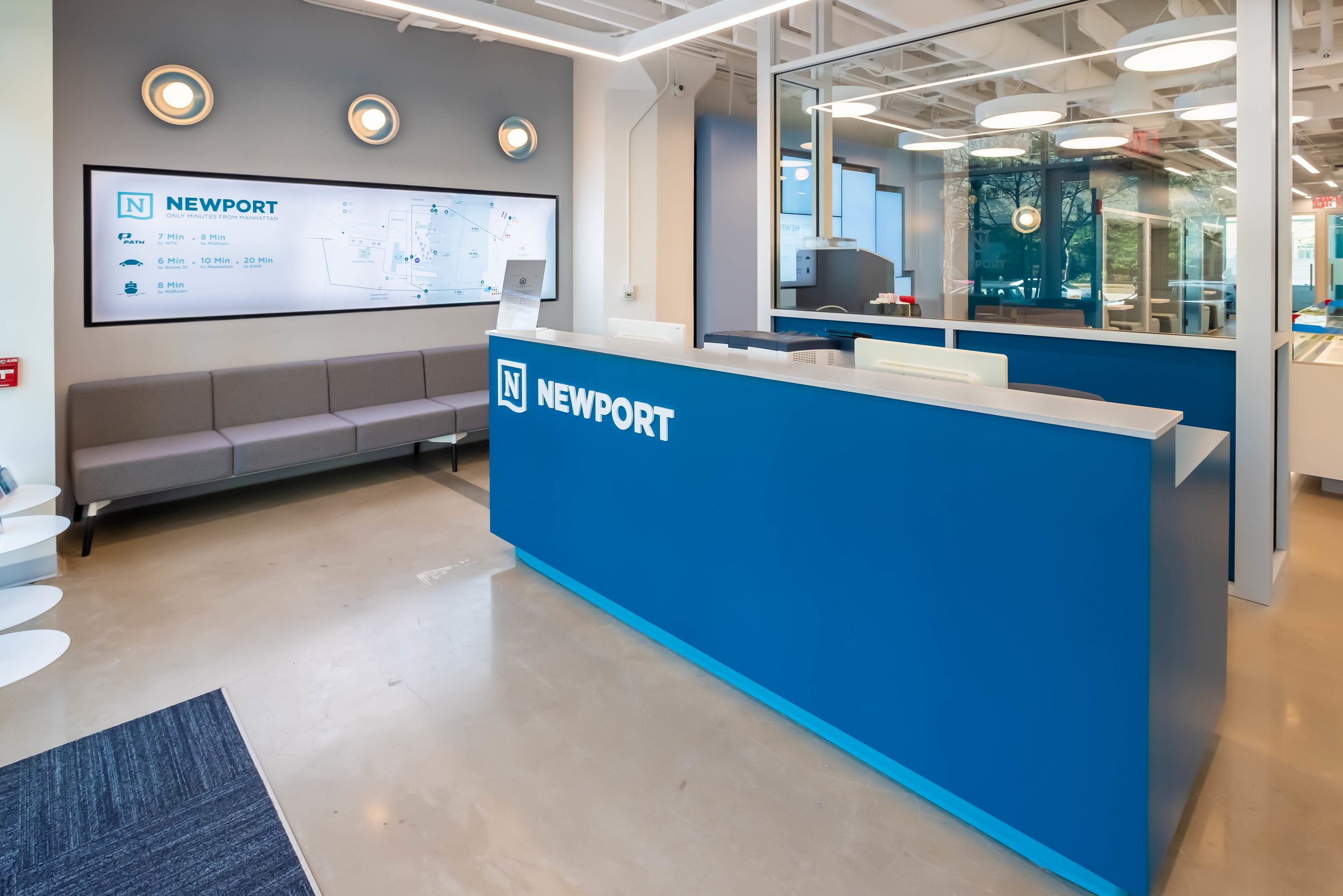 LeFrak Organization Reveals Cutting-Edge Leasing Gallery At Newport
