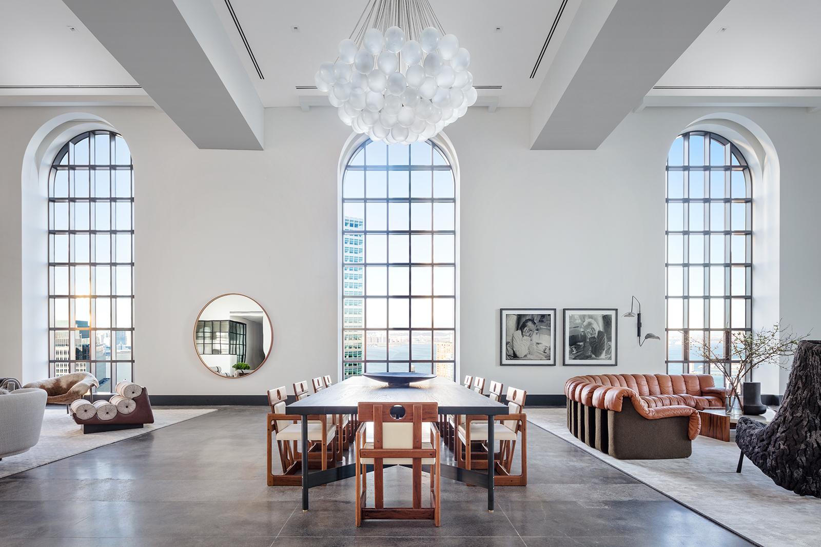 Lavish Penthouse Hits The Market At One Hundred Barclay For $39.95 Million