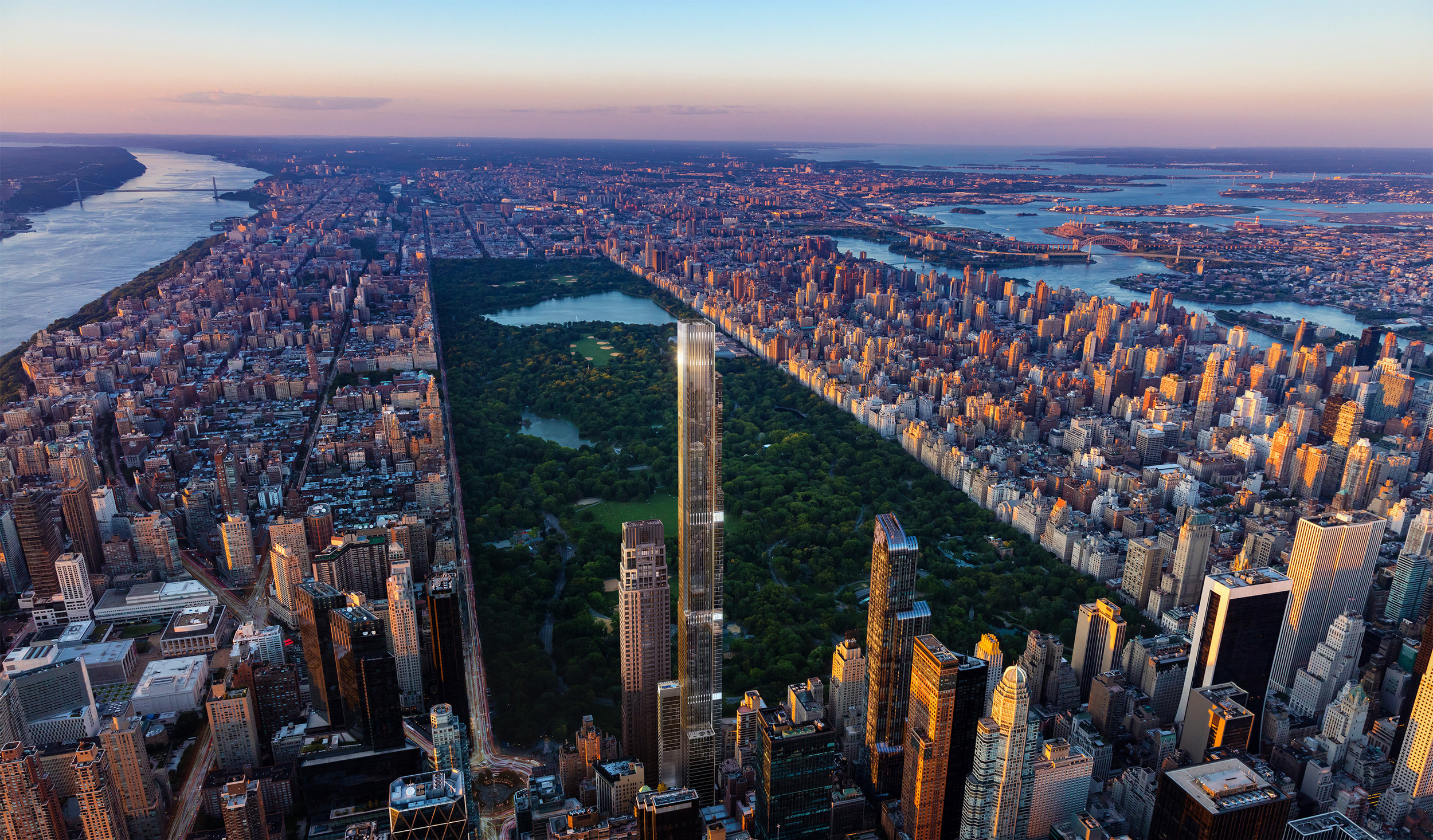 Extell Development's Ultra-Luxe Billionaire's Row Condo Central Park Tower Officially Lists Units