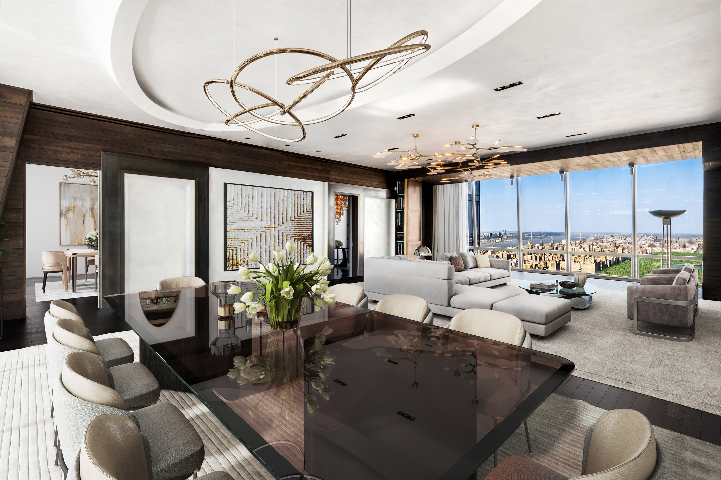 Check out This David Howell-Designed Ultra-Luxe Residence At One57 Which Just Hit The Market For $25 Million