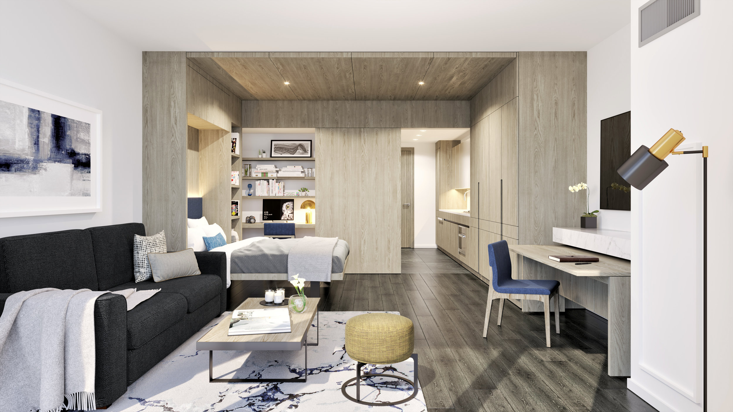 Get A Sneak Peak At Flushing, Queen's Most Luxurious New Condos At Tangram House West