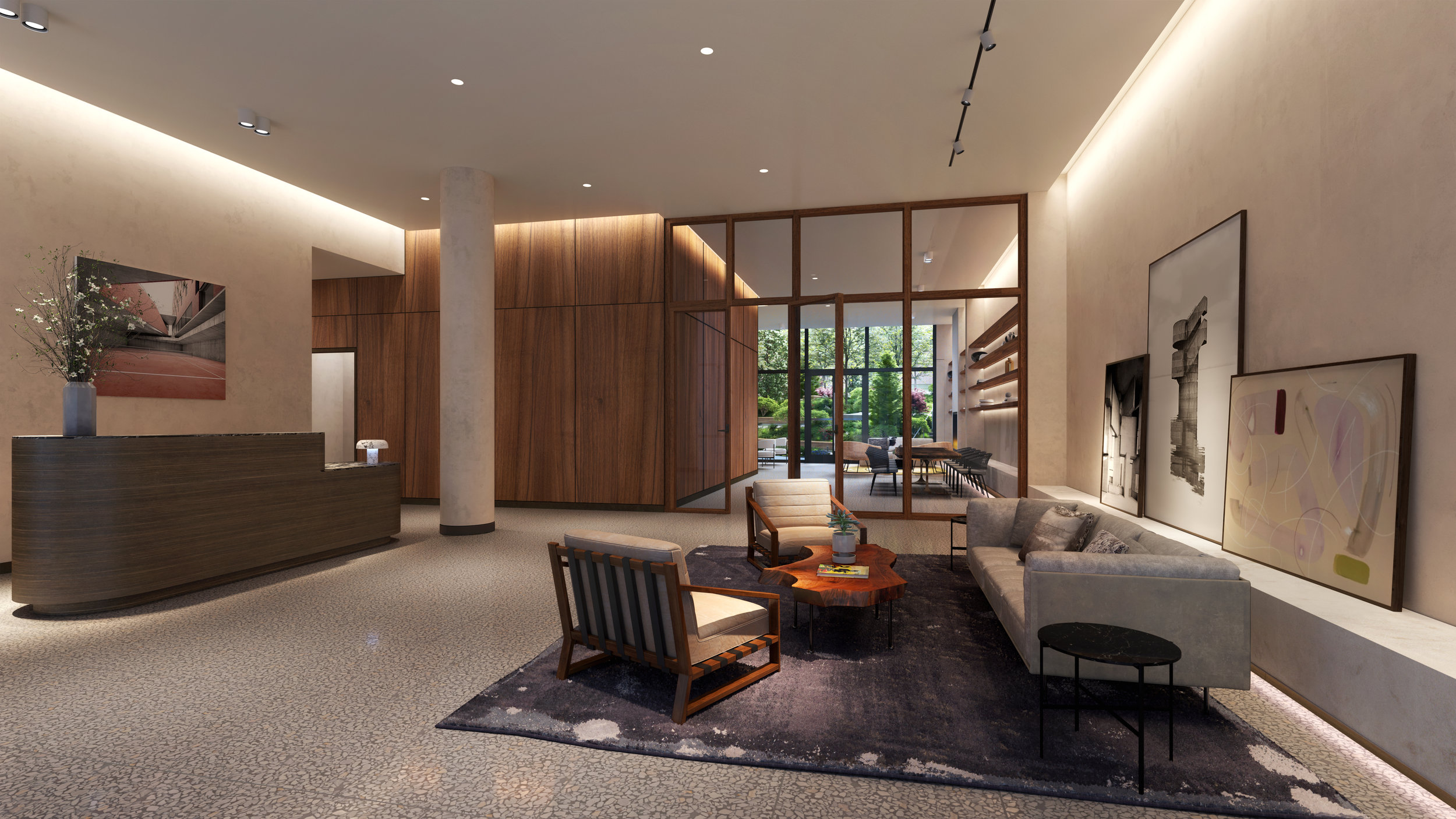 Take A First Look Inside The Morris Adjmi-Designed Front And York, DUMBO's First Resort-Style Development
