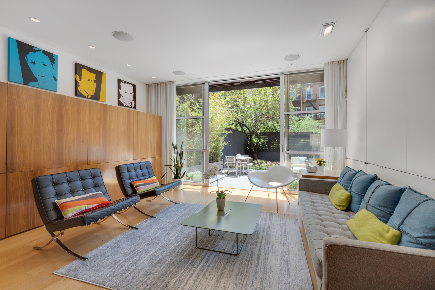 Tour A Newly Listed Townhouse Combining California Mid-Century Modernism With Classic Park Slope  Charm Asking $3.65 Million