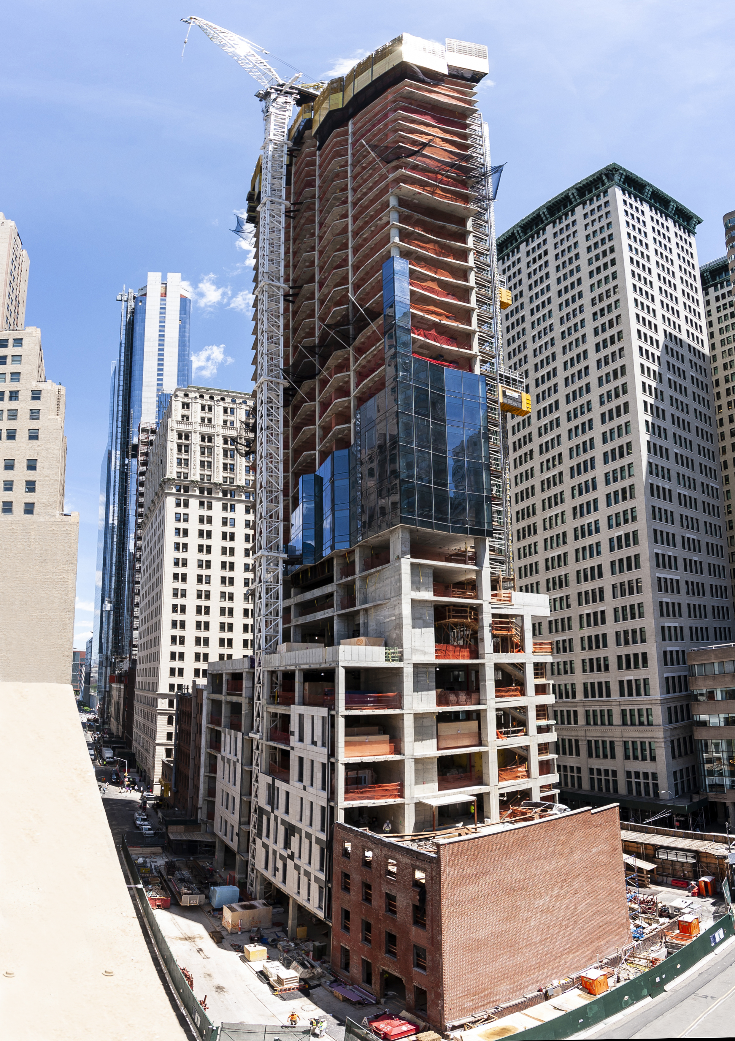 FXCollaborative 77 Greenwich Tops Out In Financial District