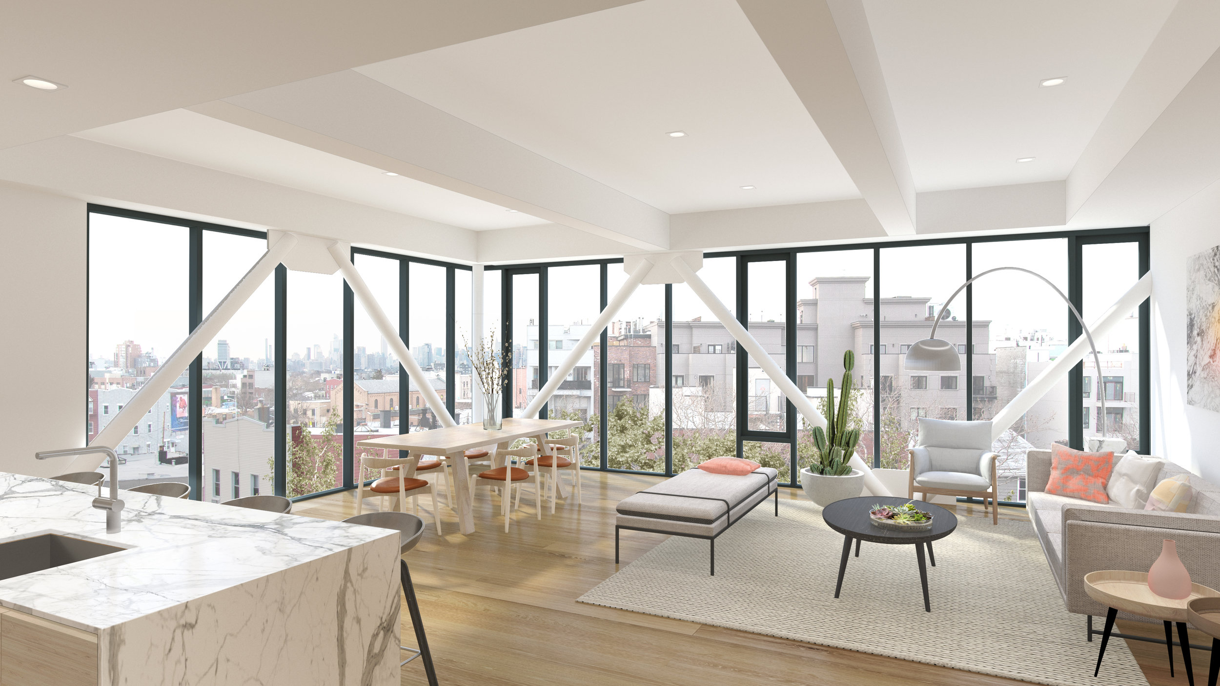 Sales Launch At East Williamsburg's Milk Factory Condominiums