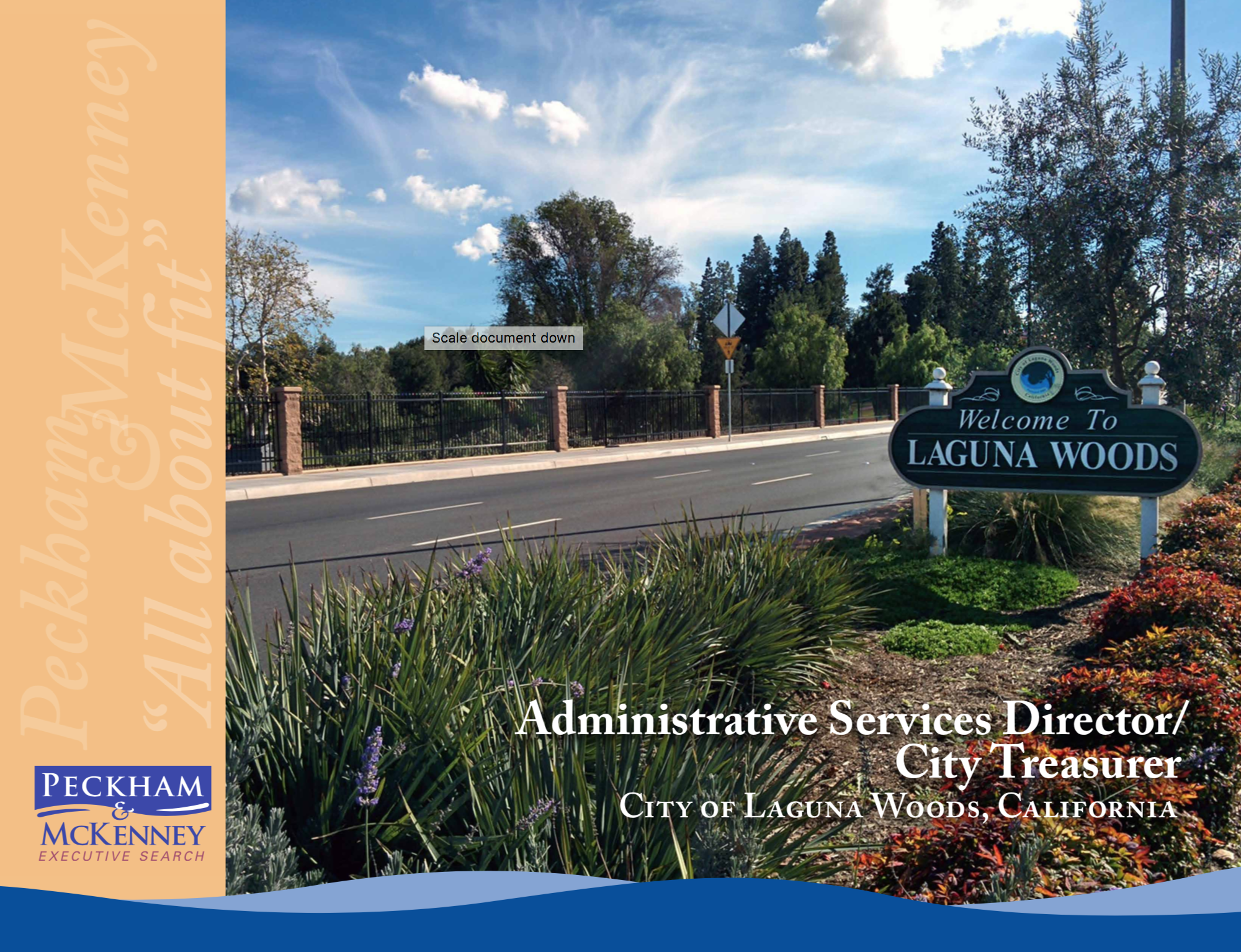 Administrative Services Director City Treasurer_LagunaWoodsCa