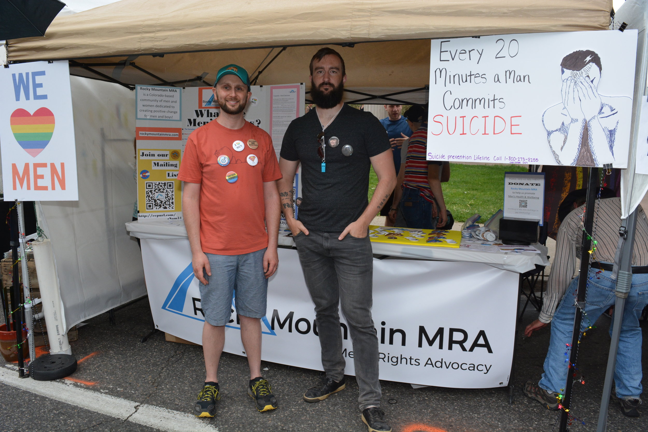Co-founders of Rocky Mountain MRA, Aaron and Bryan.