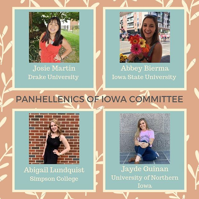 "The Panhellenic Presidents of Iowa want to thank everyone who shared our story template yesterday🤗 To continue our Kindness Across Iowa week, we'll be hiding ""kindness rocks"" around campus tomorrow. Keep an eye on our story for clues on where you might find them!"