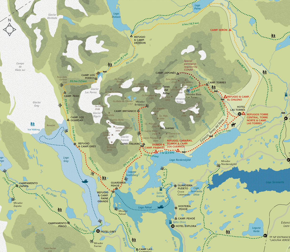 Map by Fantastico Sur