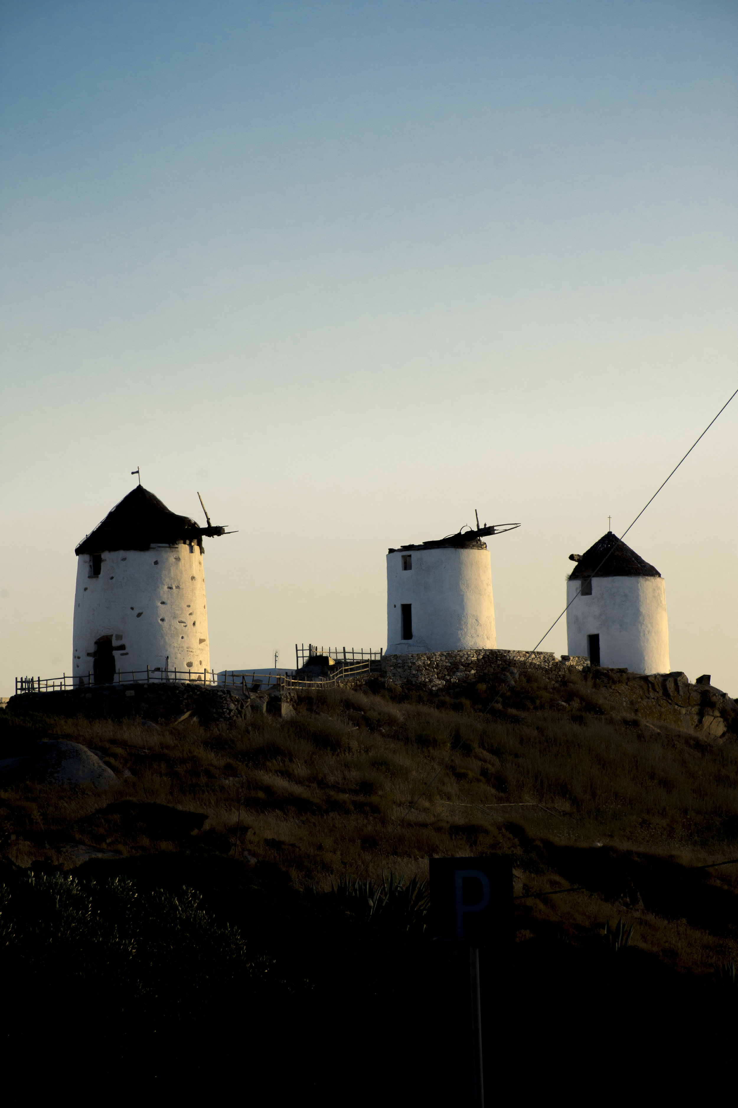 Little windmills and towers - The feeling of a lifestyle goneby