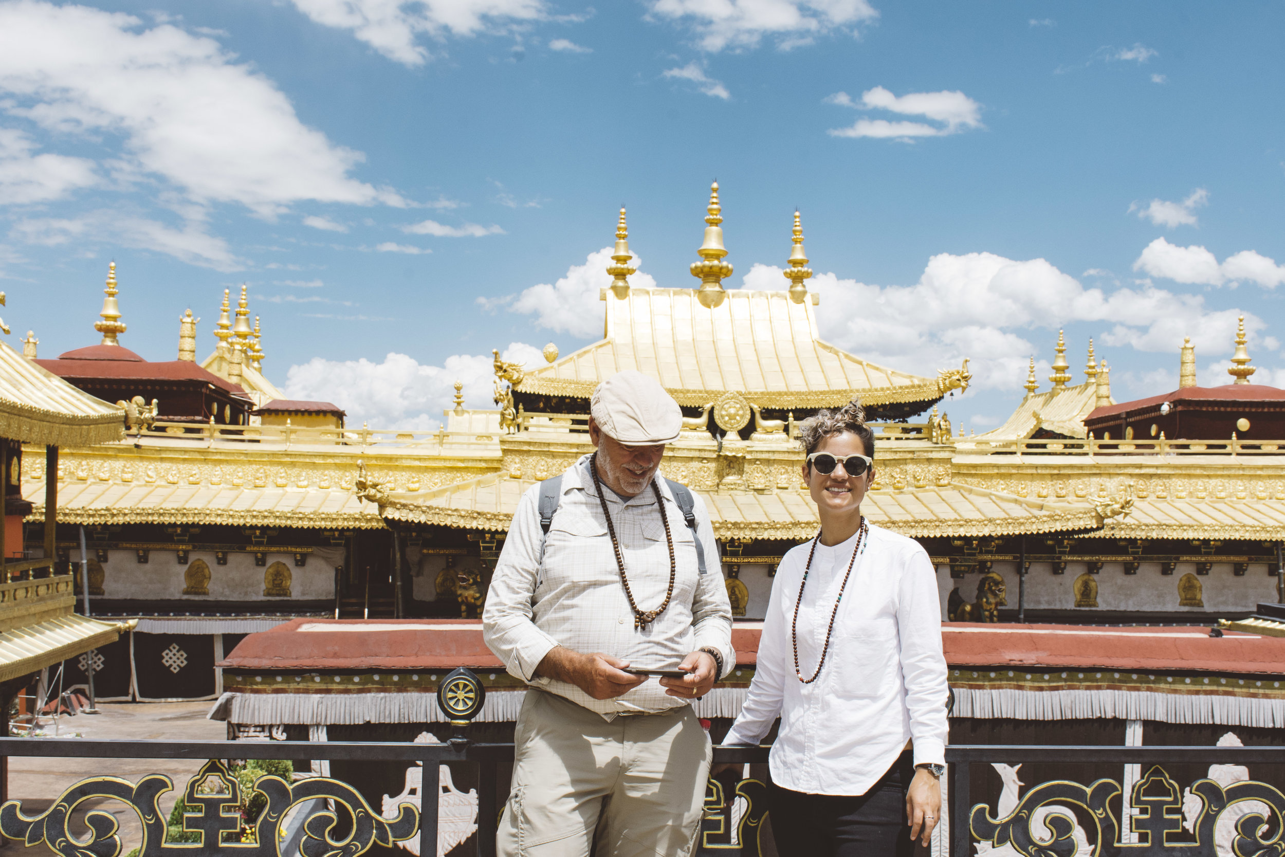 Need some gold? Tibet's Jokhang Temple seems to have more gold than the entire country.