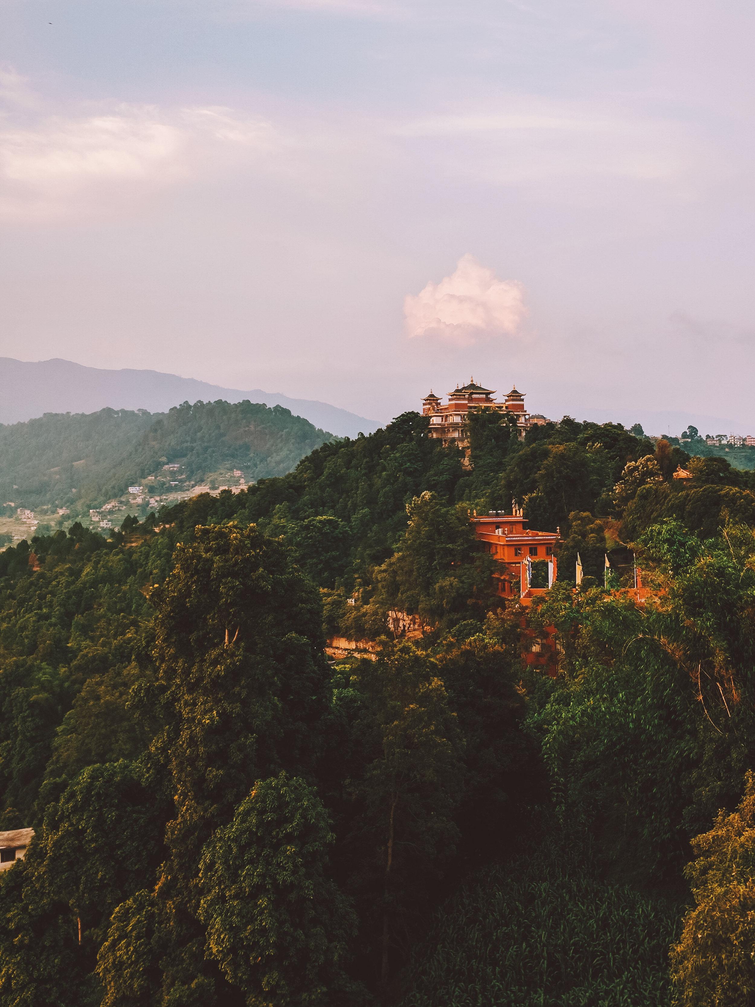 Shyalpa Monastery next to Kopan Monastery in Kathmandu, Nepal.