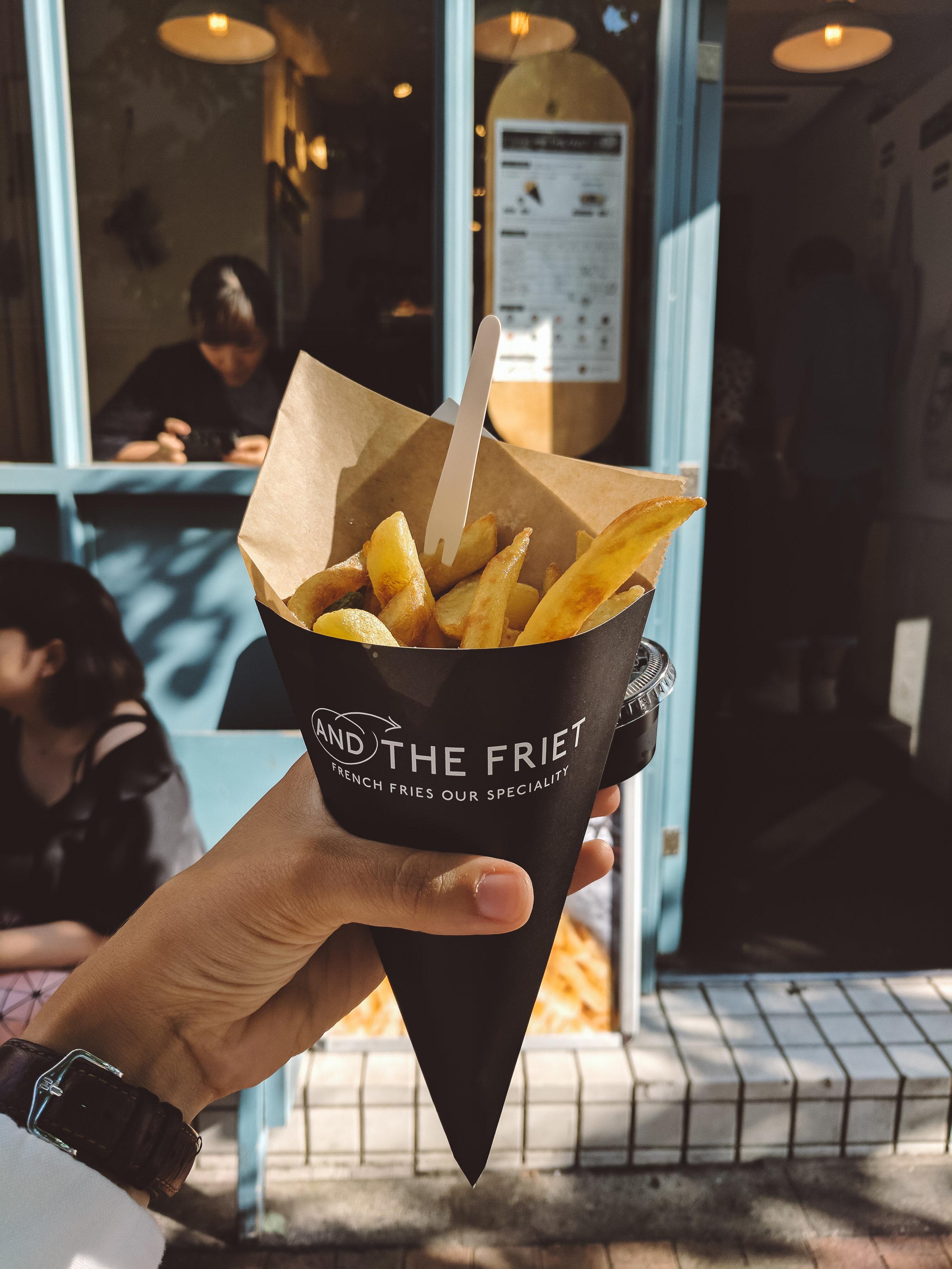 Japanese Belgian fries