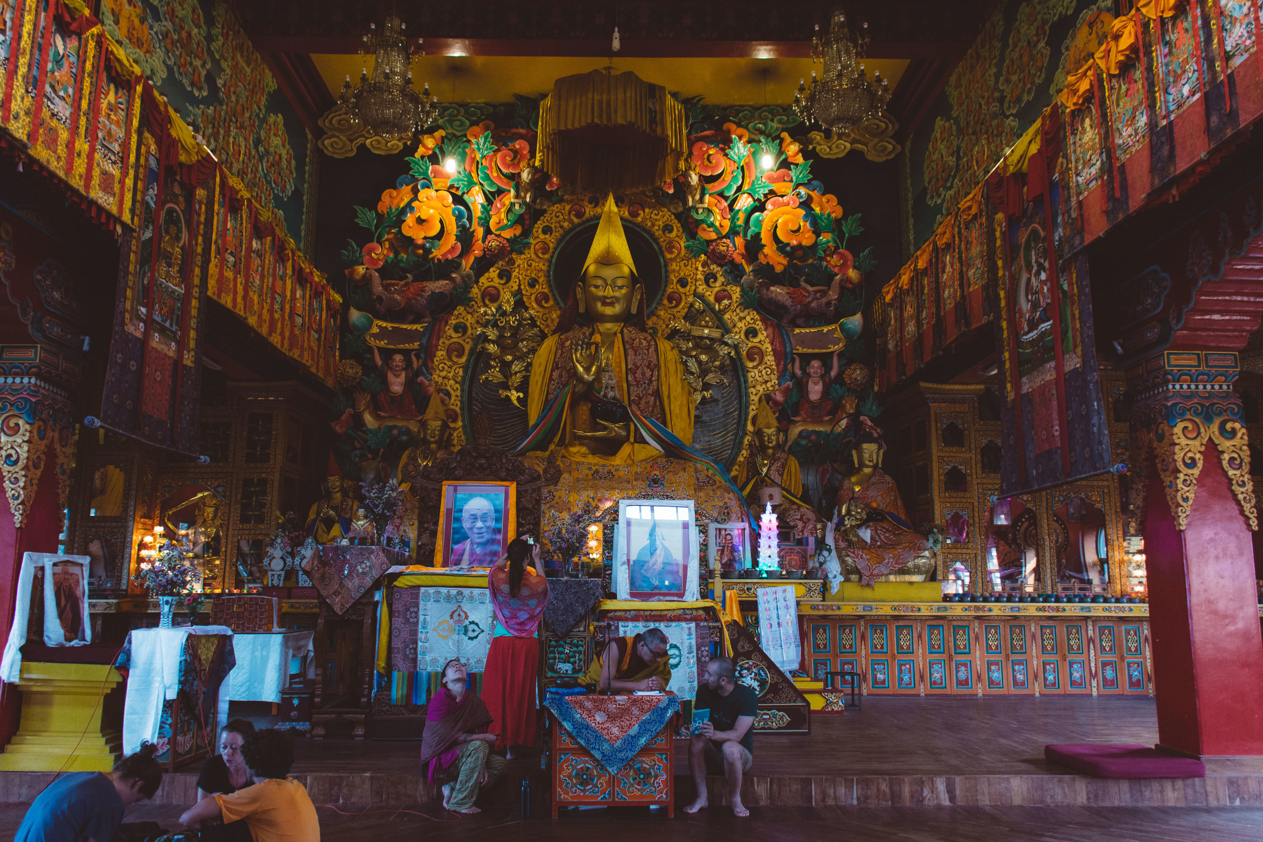 The Gompa - A hall for instruction, meditation, and celebration