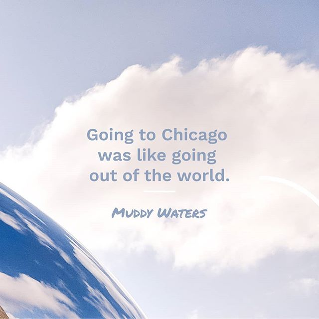 So true. • • • • • #picoftheday #quotes #muddywaters #chicago #skyporn #clouds #inspiration #cloudgate
