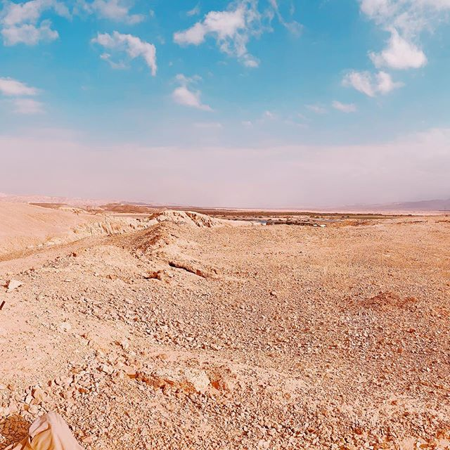 Negev Desert. Doing a bit of digging. #traveldeeper #desert #travelphotography #travelblogger