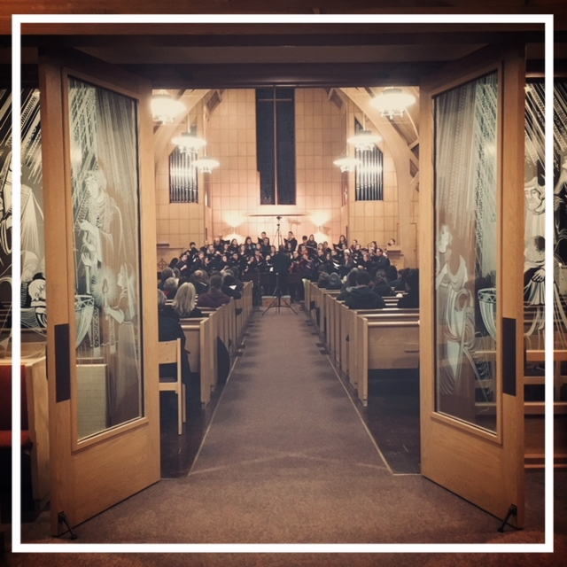 recital in the sanctuary