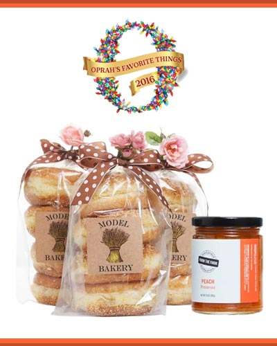 Winner of Oprah's Favorite Things List 2016 & 2017! - The Model Bakery English Muffin & Preserve set
