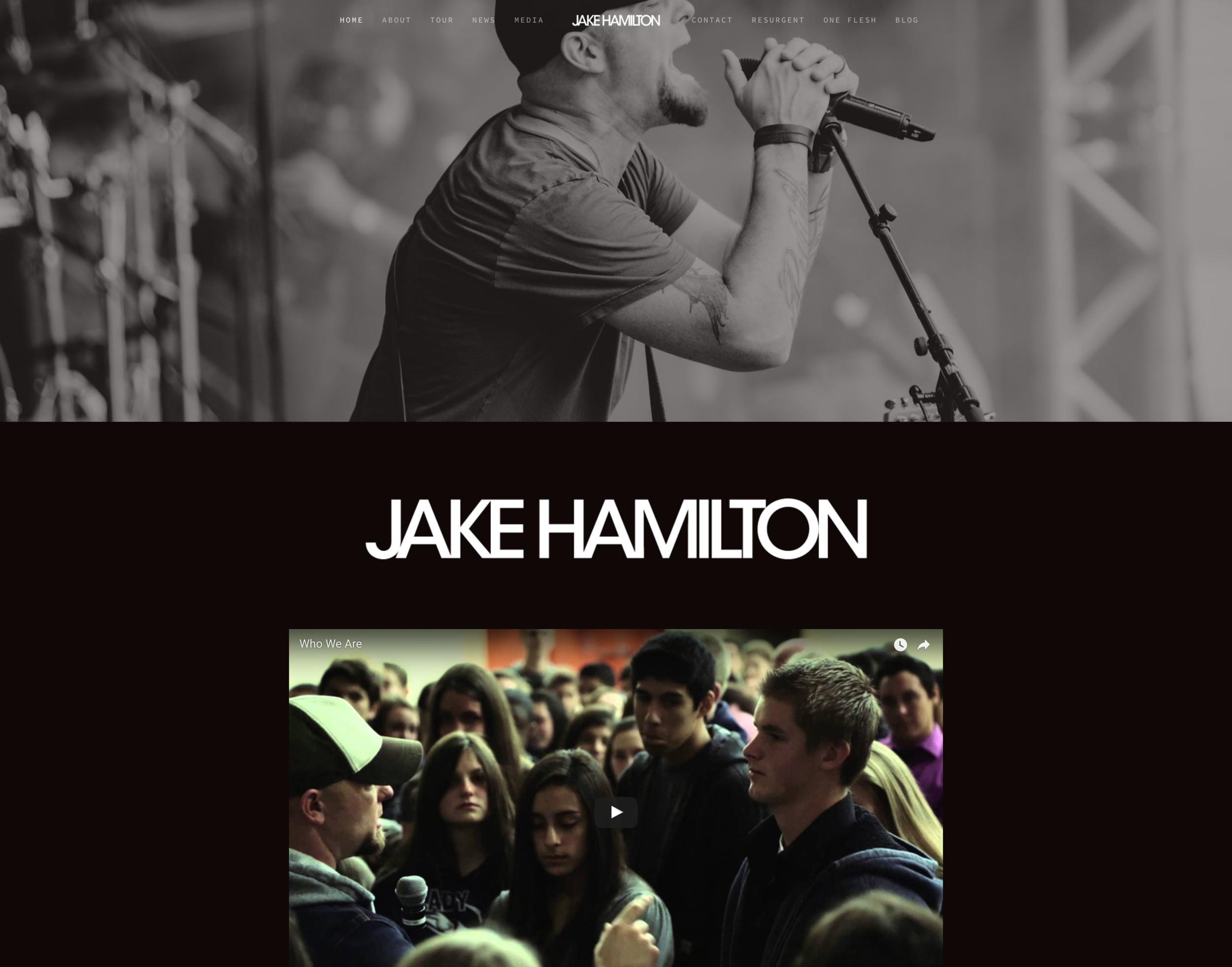 Jake Hamilton Music Website by SocialxBusiness.jpg