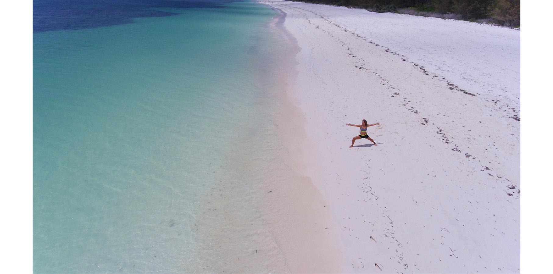 Beach Yoga Watamu, Kenya