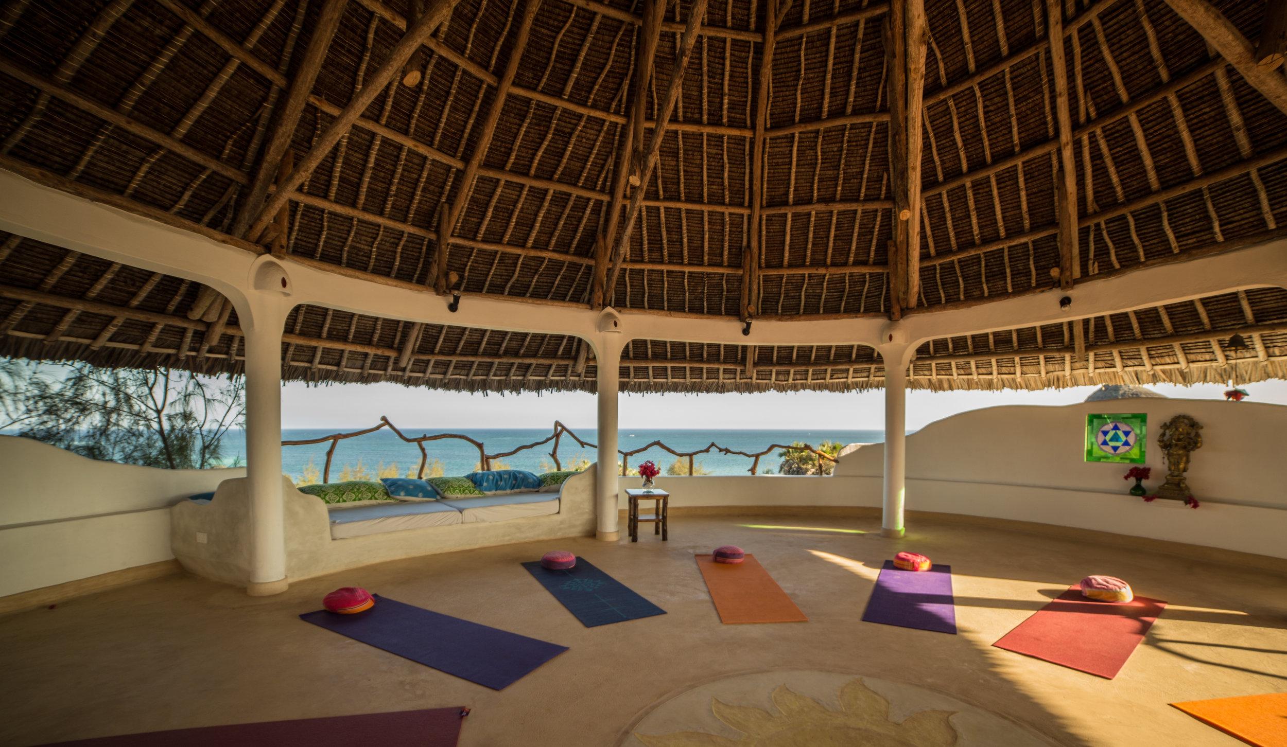 Yoga Shala at Treehouse Watamu