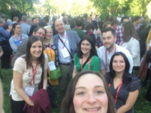 Jeanette and some of the colleagues in the Brickner Translations network at the BP Tranlation Conference in Vienna, Austria in April of 2018.