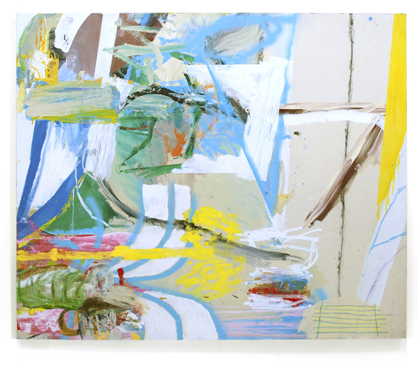 Daniel Herr untitled, 2013 oil, charcoal, pastel on canvas 55 x 79 inches (140 x 200 cm) DH1