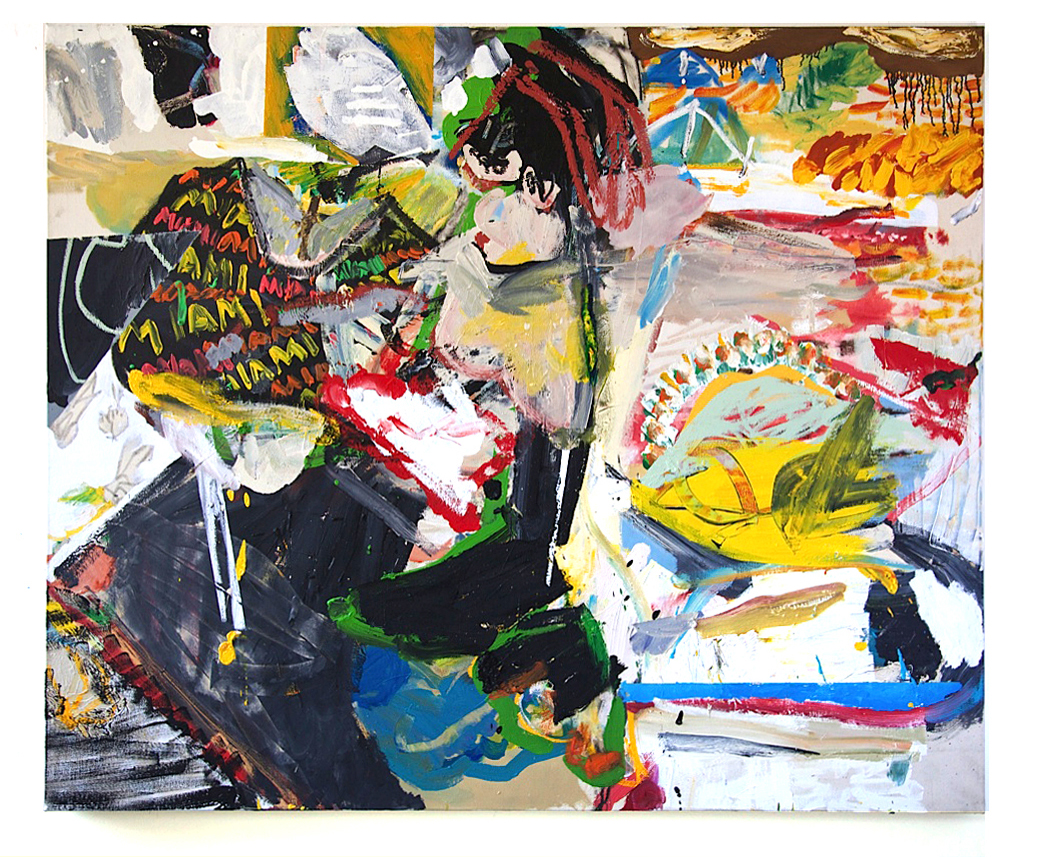Daniel Herr  Newsless Wednesdays , 2015 50 x 60 inches (127 x 152 cm) oil on canvas DH33