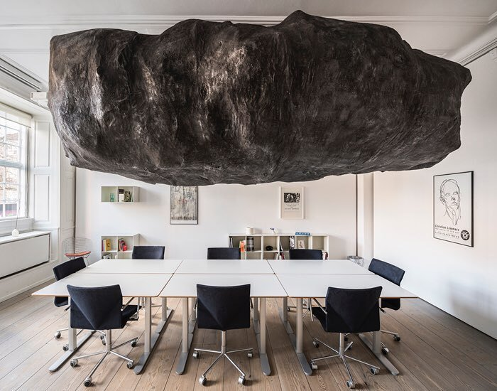 Mikkel Carl  BAD MOON RISING   Installation view GL Strand, Copenhagen