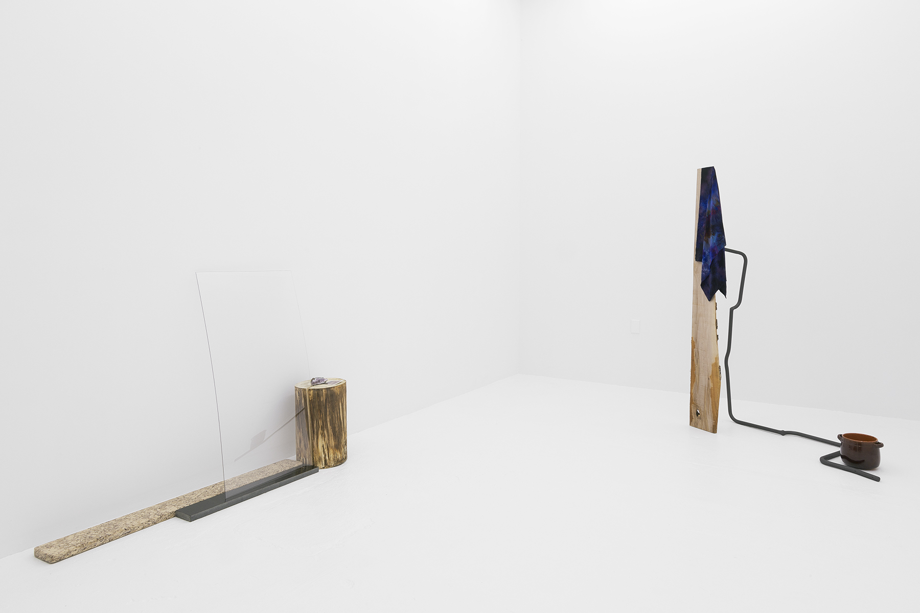 """Connor McNicholas  """"A Center Such as This"""" Installation view"""