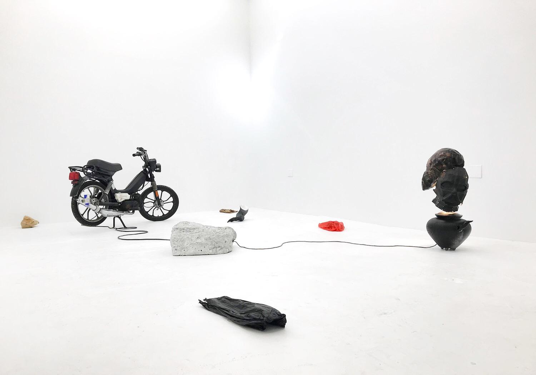 Daniel Klaas Beckwith  speedrunning  Installation view