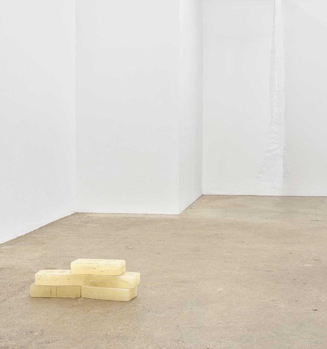 Sean Donovan Bricks , 2021 cast urethane resin 2 1/4 x 3 3/4 x 8 inches (6 x 10 x 20 cm) each SD57 – SD61
