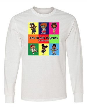 The Black Rugrats Long Sleeve T Shirt