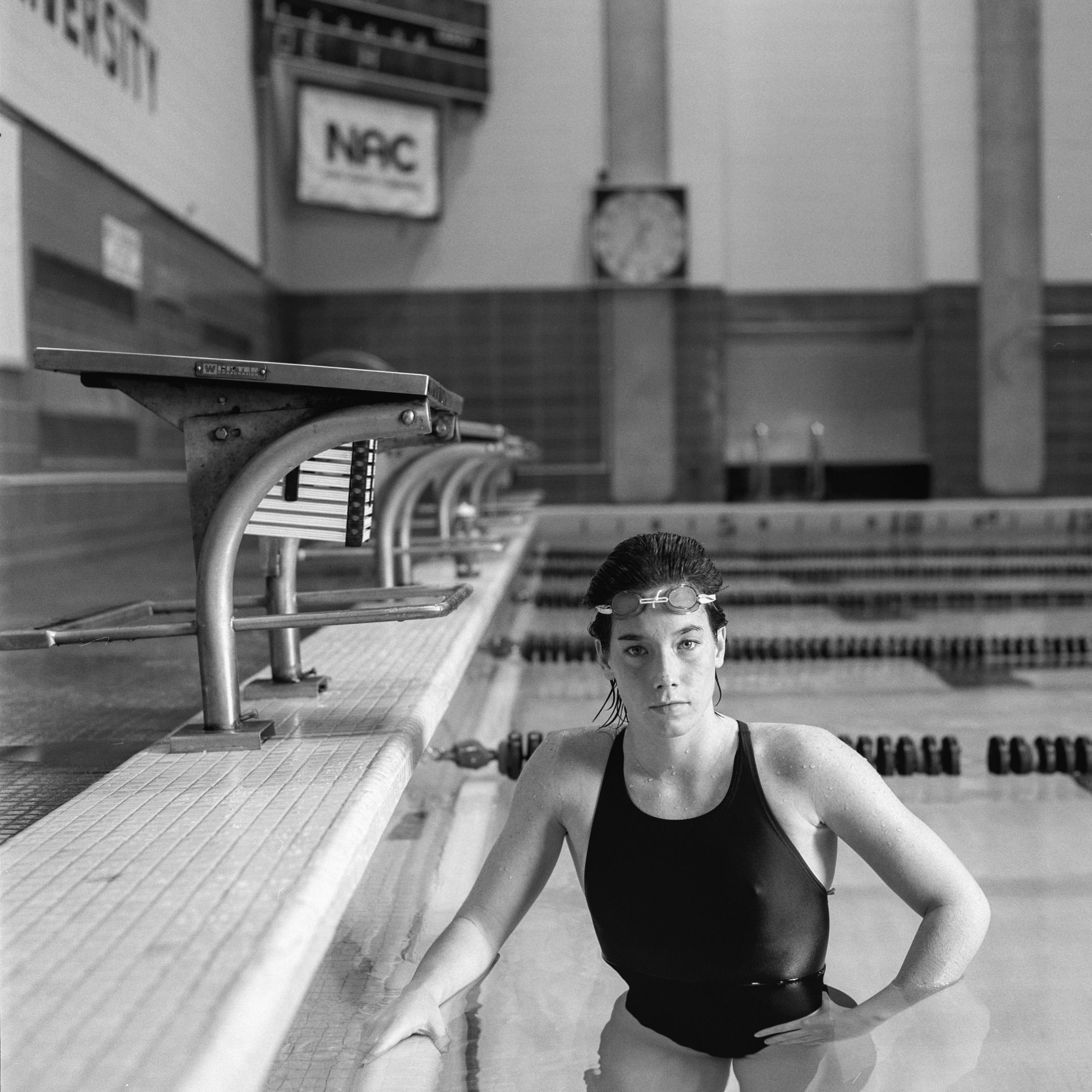 Northeaster University Swim Team Portrait