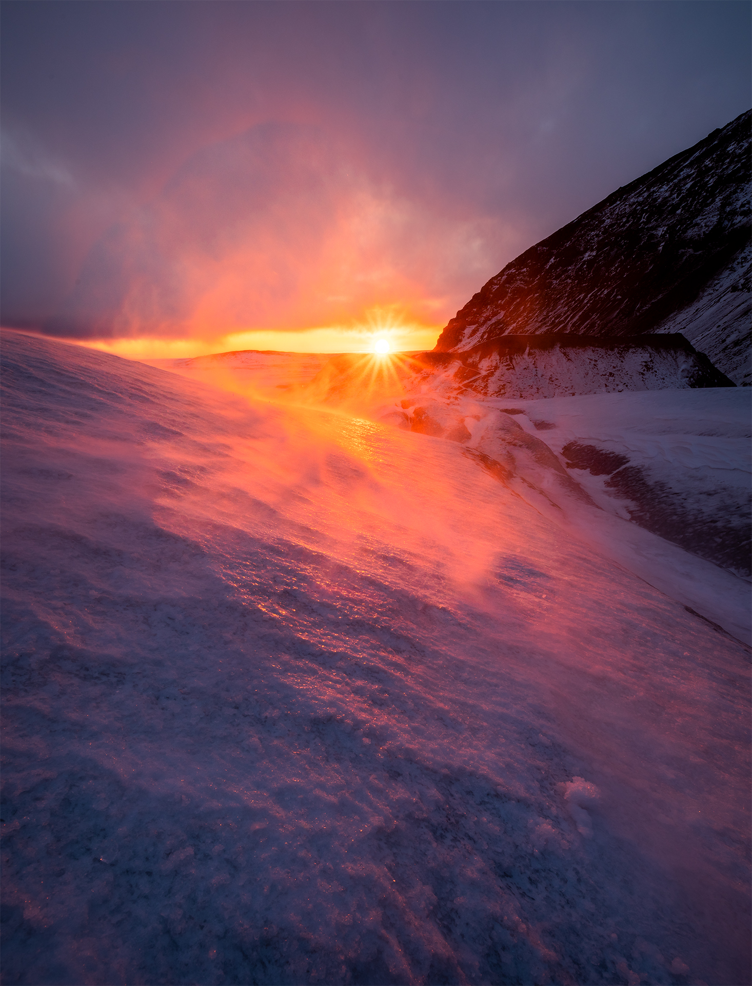 Windswept Glacier Sunset.jpg