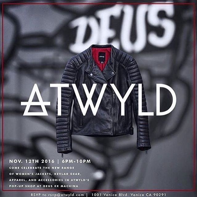 Tomorrow night check out this awesome lines pop up @atwyld at @deusemporium 6-10pm