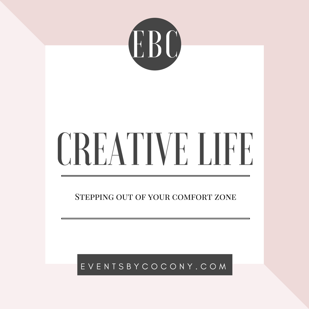 Stepping out of your comfort zone blog post