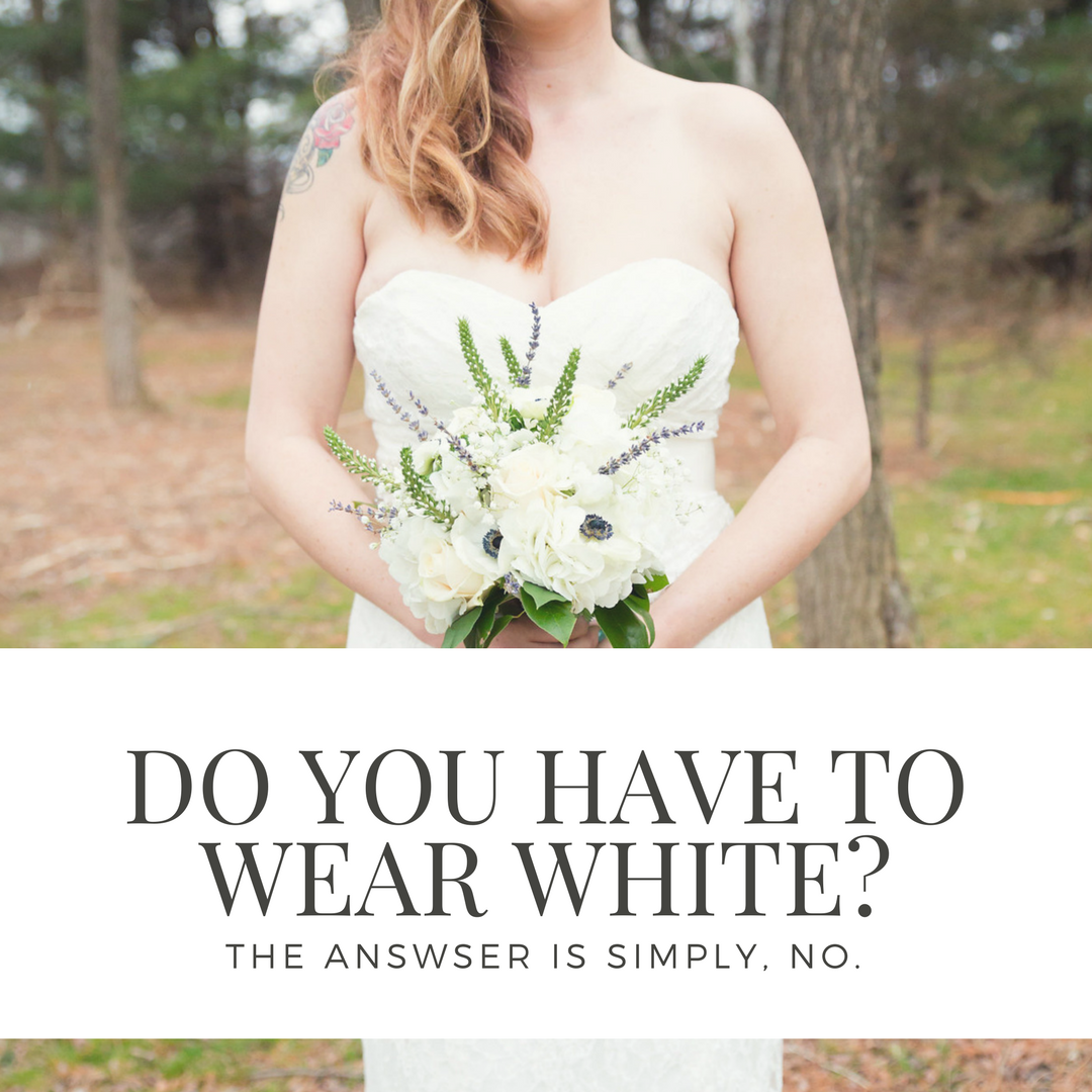 Do you have to wear white_