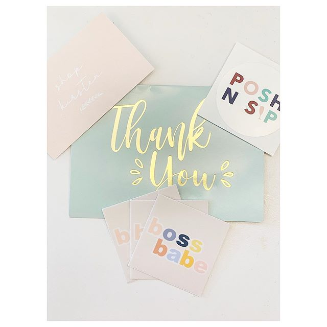 YAY I LOVE HAPPY MAIL!! Thank you to the sweetest girl @shop_kirsten !! Can't wait to put these stickers all over the place! ❤️ #bossbabe #poshfriends #poshboss #boutiqueboss #shoplocal #supportsmallbusiness #thankyou #happymail #poshmark #shopamble #weareamble #nyc #nycweddingplanner #nycfashionbloggers