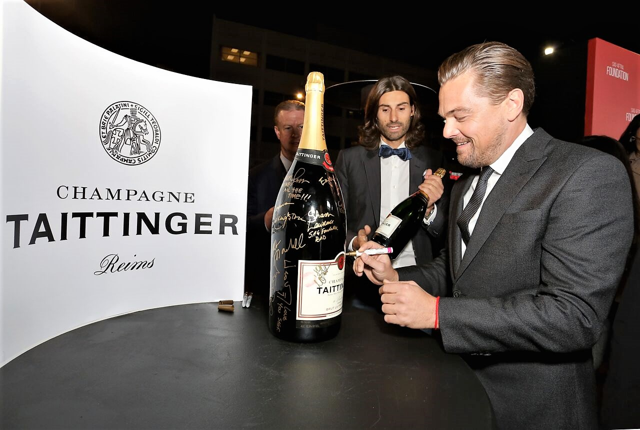 Leonardo DiCaprio Taittinger - 30th Anniversiry SAG Awards Byline Rachel Murray GettyImages 2.jpg