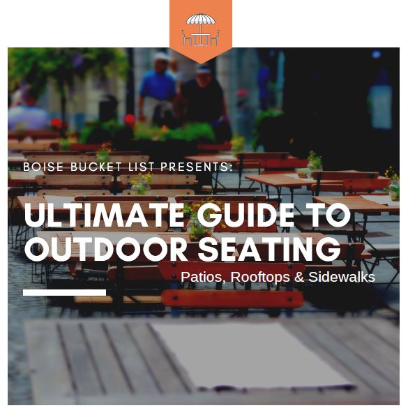 It's patio season! - Come grab my ultimate guide to outdoor seating today! Over 70 local places listed that have either a patio, rooftop, or sidewalk seating.
