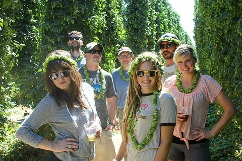 FIELD DAY HOP HARVEST PARTY  Sooooo watcha doing on Saturday?! Want to head to a hops farm with me and the @bittercreekalehouse crew?! Just your luck: The hop harvest field trip is back!  For their 6th year, @bittercreekalehouse is  excited to skip the early morning bus ride and enjoy the late summer sun set out on the farm. Gooding Farms will be hosting us for evening tours, dinner provided by Bittercreek Alehouse & fresh beer from Odell Brewing.  Guests will enjoy: - Guided tour of the Gooding Farms family hop farm during harvest & learn more about this 6th generation family farm - Groove to sunset sets from Matt Hopper & The Roman Candles and Rider & Rolling Thunder. - Smoked Chicken Dinner on the farm from the new executive chef at Bittercreek (100% vegan option available). - Odell Brewing (@odellbrewing) will be bringing fresh goodies to pour including a speciality beer made from Idaho gem hops(Gooding Farms propriety hop) & some totally legal canned beverages for the chartered bus ride; - Frolicking at the farm & closed toes shoes are highly encouraged.  Bring your game face for some yard games & other surprises. Check-in at Cecil Andrus Park @ 4:00pm, Bus leaves @ 4:30pm. Buses scheduled to return 8pm, 9pm & 10pm. Tickets 🎫 🍺 are only $50! You can visit the link in my bio OR head to @bittercreekalehouse to get yours.  My September is sure hopping along 😜. Come and cross Field Day Hop Harvest Party off your @boise_bucketlist ✅✅🍺🍺 #BittercreekAlehouse #HopHarvestParty