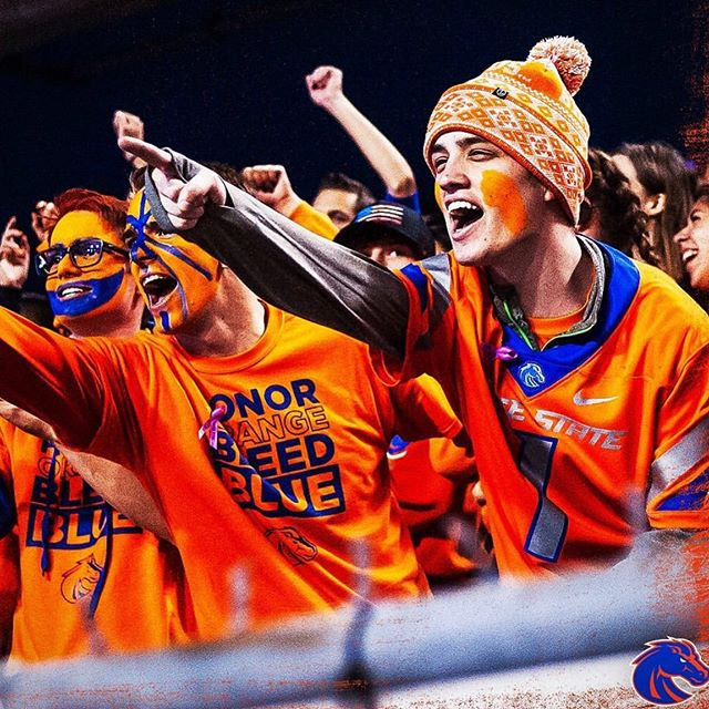 🔷 GAME DAY 🔶  Who is READY?! Tonight @boisestatefootball plays Portland State.  Need a spot to tailgate and watch the game?! Albertsons on Broadway (@broadwayontherocks) is the place for all your viewing party needs.  @drinkbeerboise will be set up at the downstairs patio from 5pm to 8pm. They'll have $3 canned beer 🍺 & giveaways . Upstairs will have $5 cocktails in a can, Moscow Mules, and plenty of food options to satisfy any tailgating cravings.  Where are YOU tailgating?! I'll be at Albertsons & walking around to visit all the various tailgates .  Good luck, BSU!  #EatLifeUp #AlbertsonsOnBroadway #BoiseStateFootball  PC: @boisestatebroncos