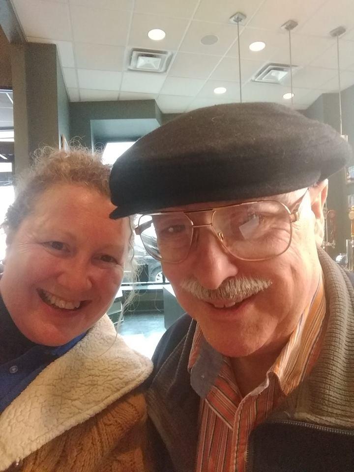Companion Home Care Inc client Chris Lemon with owner Michelle Belton